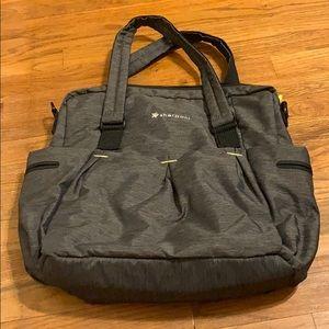 Sherpani gray tote bag